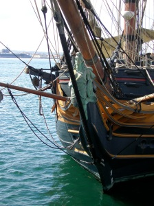 Tall ships, downtown