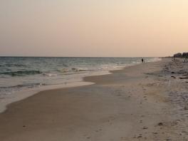 The beaches of St. George Island