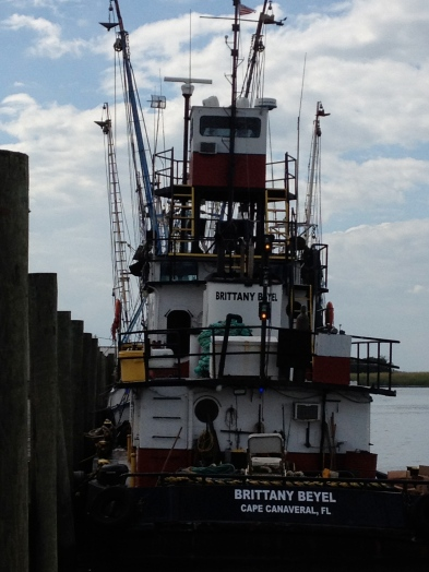 Oyster boats on Apalachicola Bay