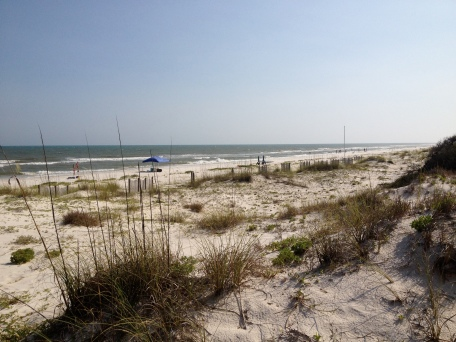 The beaches of St. George Island