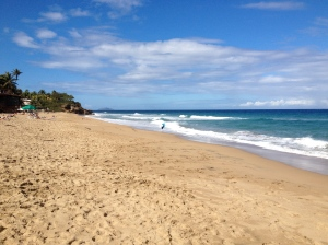 Sandy Beach, Rincón, Puerto Rico