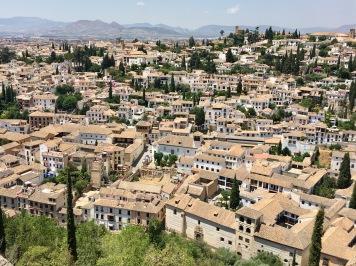 Granada from the Alhambra